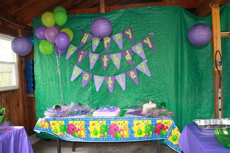 barney birthday decorations 1000 images about barney birthday theme on