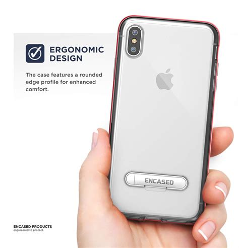iphone xs max reveal case red encased