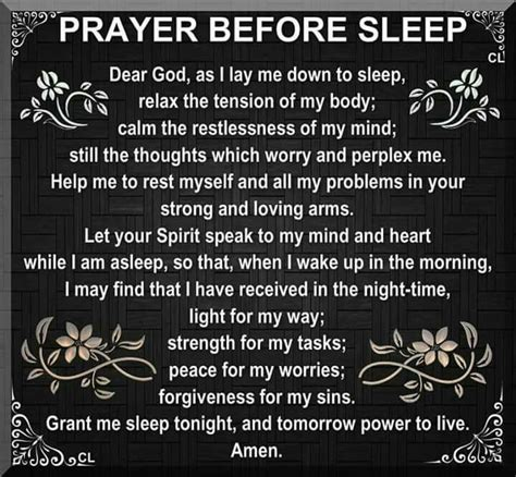 catholic prayer before bed prayer before i sleep giving pause pinterest bible