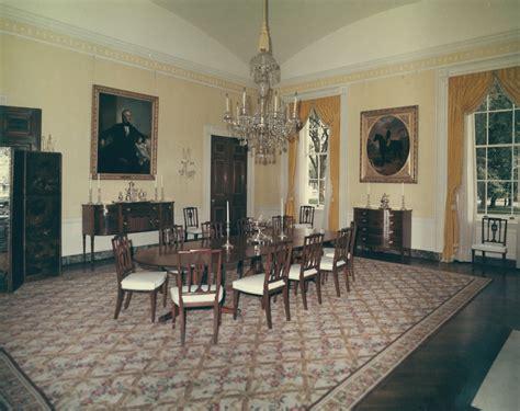 white house dining room the family dining room made new again whitehouse gov