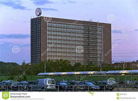 volkswagen headquarter editorial photo image 60041221