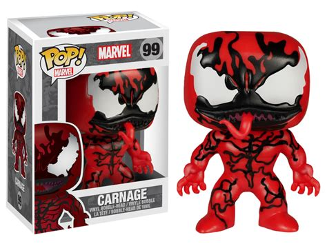 Funko Pop Original Marvel Carnage Exclusive Carnage Pop Vinyl By Marvel From Funko Trt Library