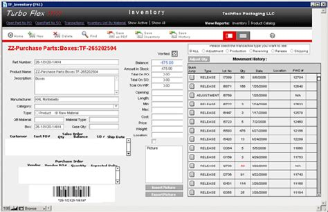 database design for manufacturing company database for inventory management work order tracking
