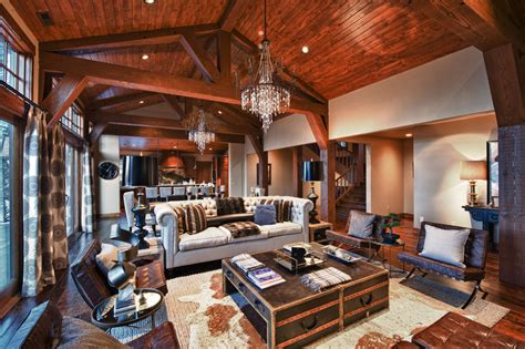 Rustic Livingroom - 18 rustic living room design photos beautyharmonylife