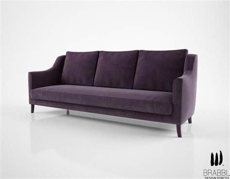 3d couch brabbu como sofa 3d model max obj fbx mtl cgtrader com