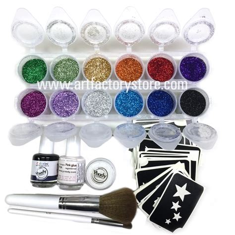 what stores sell henna tattoo kits ybody pro all in one kit 100 adhesive stencils