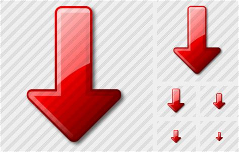 arrow  red icon aero icons stock icons insofta