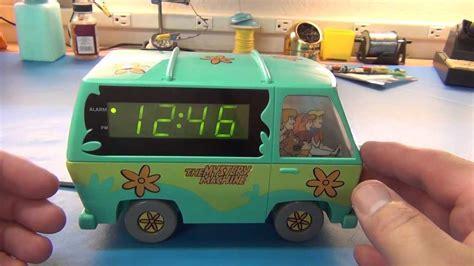 scooby doo alarm clock repair youtube