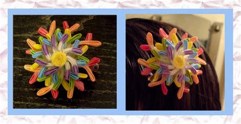 imagenes de flores kanzashi taller de flores kanzashi luna llena