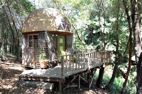 air bnb cabins airbnb s most popular rental is a tiny mushroom dome cabin