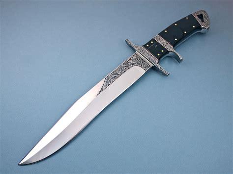 bg42 steel custom knives made by ricardo velarde for sale by