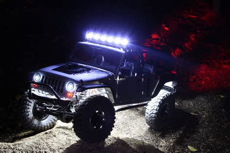 jeep lights uf 7 road rock crawler deluxe light package