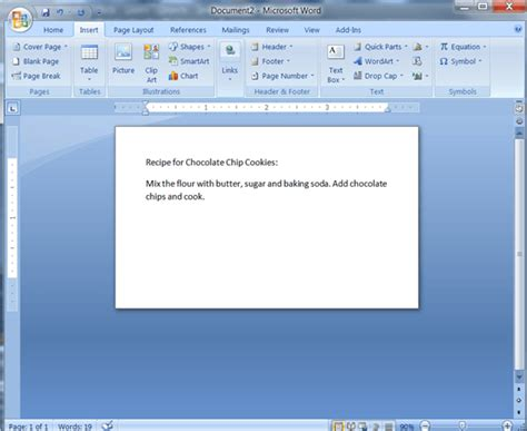 how do i make index cards in microsoft word