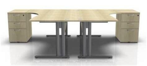 2 person corner desk two person corner desk bundle optimize office reality