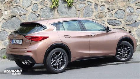 rose gold infiniti car test infiniti q30 youtube