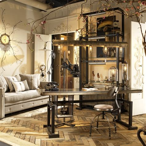 industrial chic home decor urdezign lugar furniture