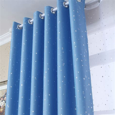 star curtains for kids 4 colors modern blackout curtains for living room bedroom