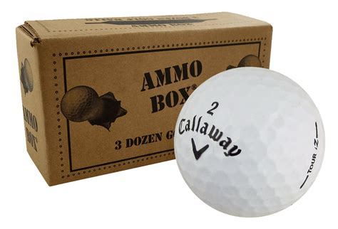 Callaway Preowned Gift Card - callaway assorted surlyn mix ammo box golf balls