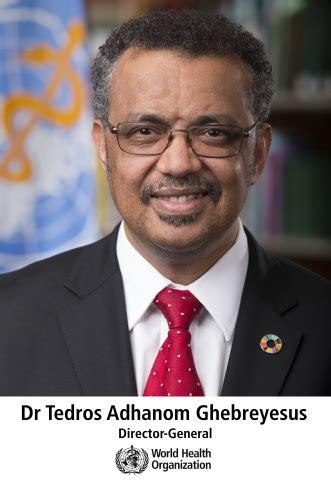 tedros adhanom ghebreyesus il direttore generale dell organizzazione mondiale della