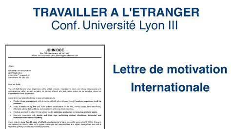 Lettre De Motivation Apb A La La Lettre De Motivation Travailler 224 L 233 Tranger Partie 12