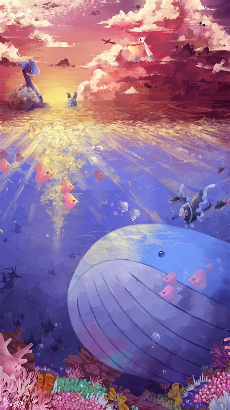 pokemon   sea iphone  wallpapers hd iphone
