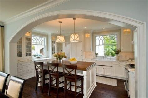 kitchen island length not a great pic but a fantastic layout for a u shaped