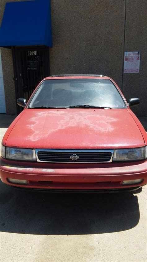 car manuals free online 1992 nissan maxima seat position control 1992 nissan maxima for sale