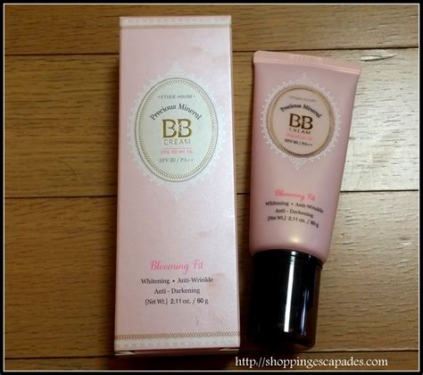 Etude Precious Mineral Bb Fit Sachet etude house precious mineral blooming fit bb