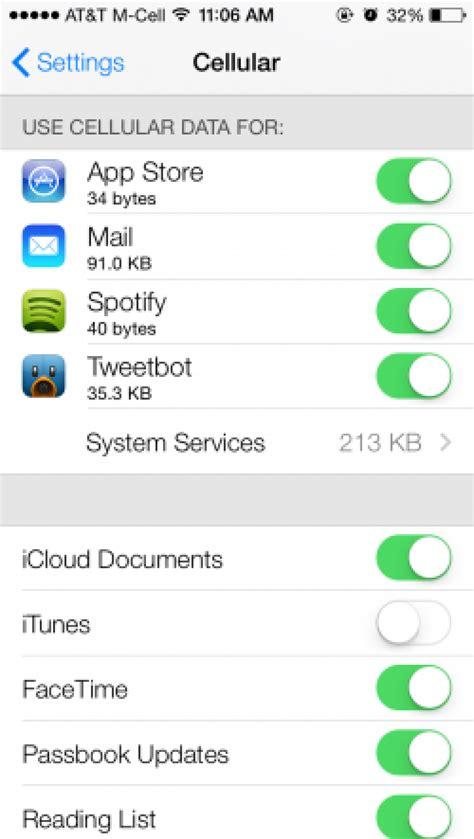 ios  beta tidbits  app cellular data usage  clock icon panoramic wallpaper