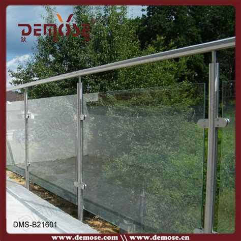 Harga Clear Glass 8mm tempered glass railing tangga stainless steel harga buy