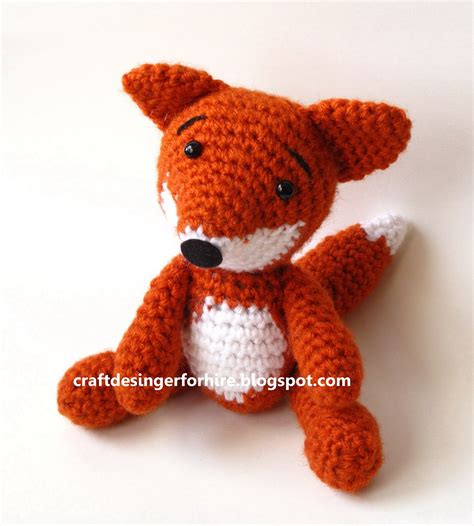 amigurumi fox craft designer for hire free fox amigurumi pattern from