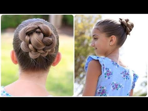 cute girl hairstyles buns youtube how to create a 3d flower bun cute updos youtube