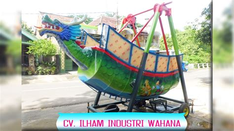 kora kora kapal ayun naga ilham industri wahana