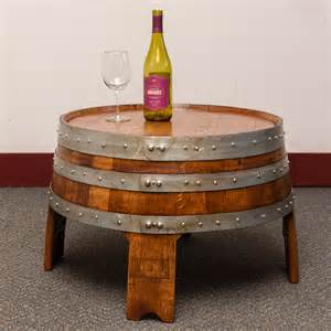 Wine Barrel Coffee Table Sonoma Barrel Coffee Table Wine Barrel Furniture