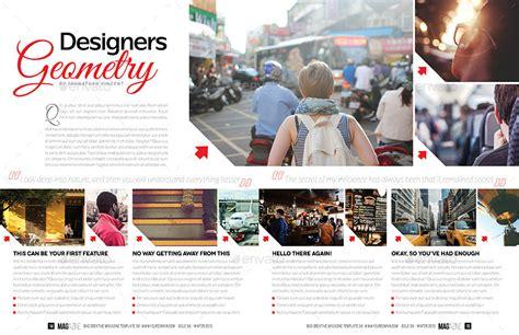 indesign layout for magazine magazine template bundle indesign layout v2 by