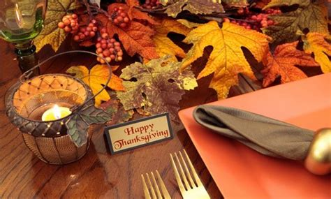 5 easy decorating ideas for your thanksgiving table