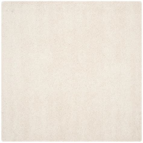10 X 10 Ft Square Rug - safavieh milan shag ivory 10 ft x 10 ft square area rug