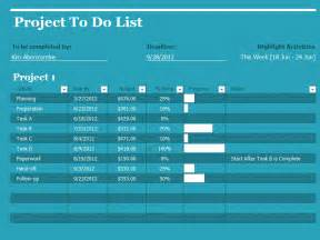 Project Management To Do List Excel Template Project To Do List Office Templates