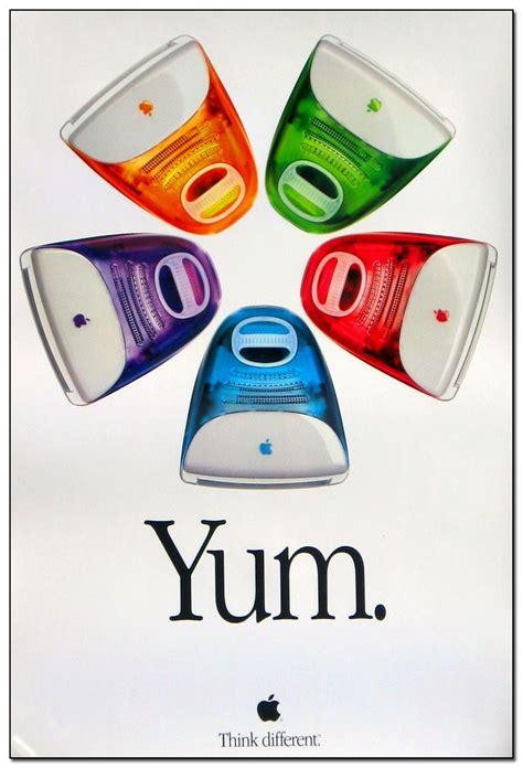 design poster on imac imac yum poster 1999 ads pinterest poster