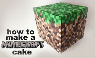 minecraft cake recipe tutorial 3d by ann reardon how to