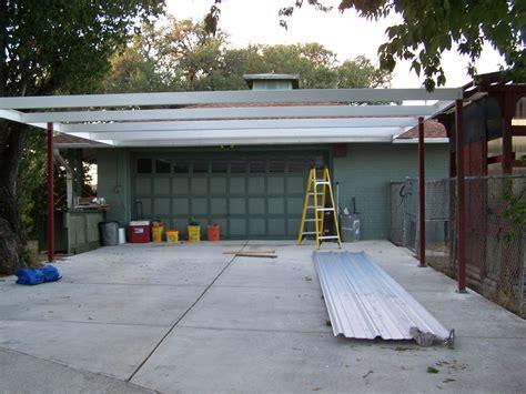 Lean To Car Port by Simple Lean To Carport 21 X22 San Antonio Carport Patio Covers Awnings San Antonio