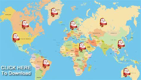 santa map santa map tracker my