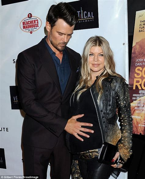 Black Eyed Peas Fergie Engaged To Josh Duhamel Reps Confirm by Fergie Husband Josh Welcome New Baby Boy Axl