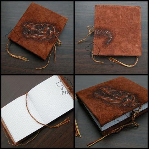 Handmade Bookbinding - t rexbook handmade notebook by lioncourt on deviantart
