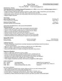 Mba Resume Objective Statement by Career Objective For Mba Finance Free Resume Templates