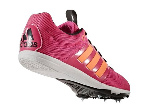 adidas allrounder junior pink orange running track field spikes shoes trainers ebay