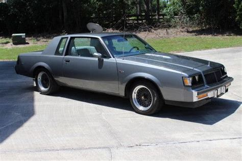 how to learn all about cars 1986 buick skyhawk regenerative braking purchase used 1986 buick regal t type grand national in ocala florida united states for us