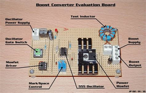 simple circuit board dc to buck converter schematic get free image about