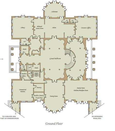 mega homes floor plans homes of the rich readers revised floor plans to