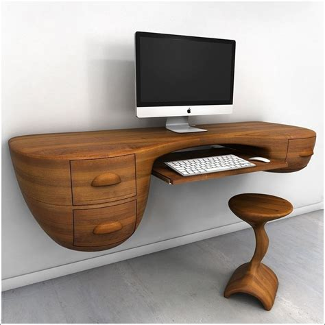 Unique Computer Desk Ideas Enchanting Unique Computer Desk Ideas Best About Cool In Desks Designs 4 Scarletsrevenge